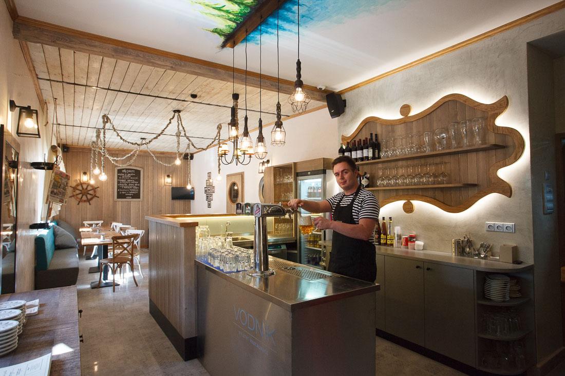 Vodnik restaurace Vimperk