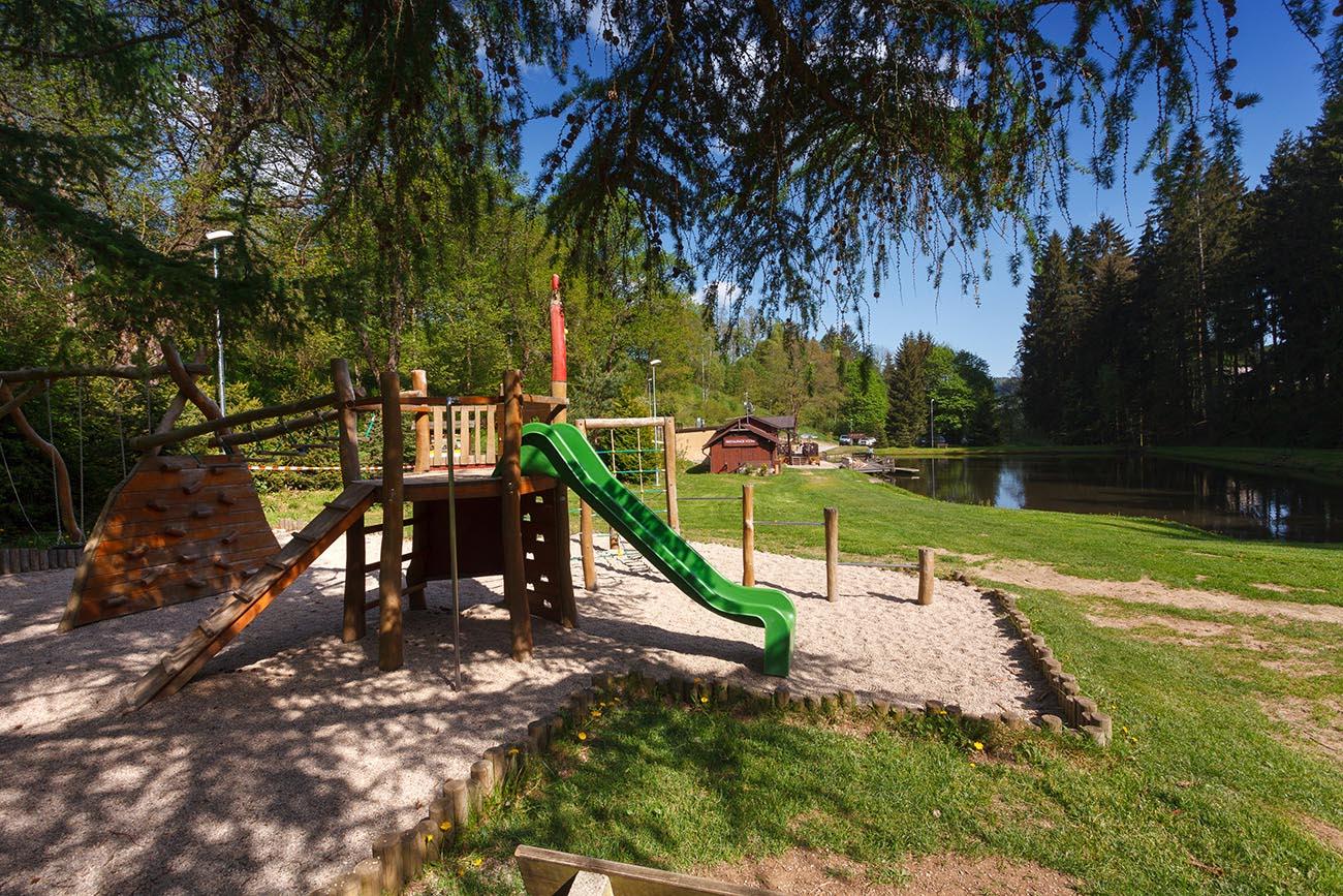 Dětské hřište - kemp Vodník